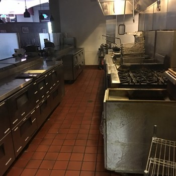 After Restaurant Cleaning