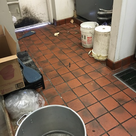 Before Restaurant Cleaning
